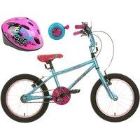 Apollo Roxie Kids' Bike, Helmet & Bell Bundle