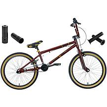 image of Voodoo Shango BMX Q3, Stunt Pegs and Handlebar Grips Bundle