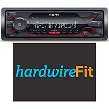 image of Sony DSX-A410BT Car Stereo Fully Fitted Bundle