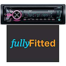 image of Sony MEX-N6002BD Car Stereo Fully Fitted Bundle