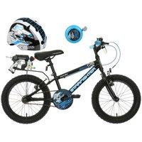 Apollo Starfighter Kids' Bike, Helmet & Bell Bundle