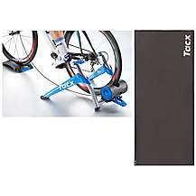 image of Tacx T2500 Booster Cycletrainer Bundle with Tacx Mat