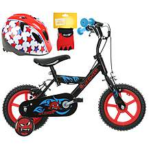 Urchin Kids' Bike, Helmet & Mitts Bundle
