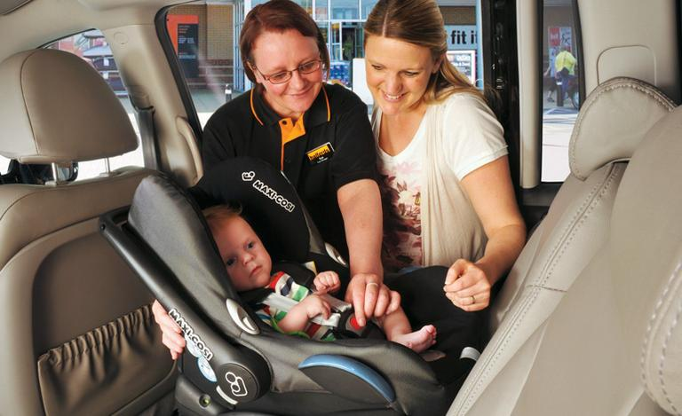 Image for Child Car Seats Fitting article
