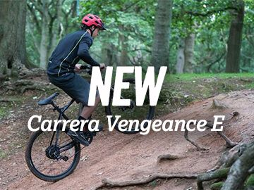 New Carrera Vengeance E Bike