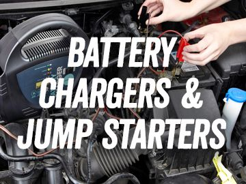 Battery Chargers and Jump Starters