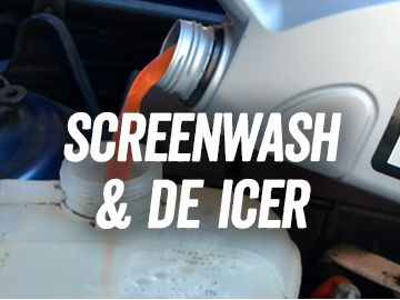 Screenwash & De Icer
