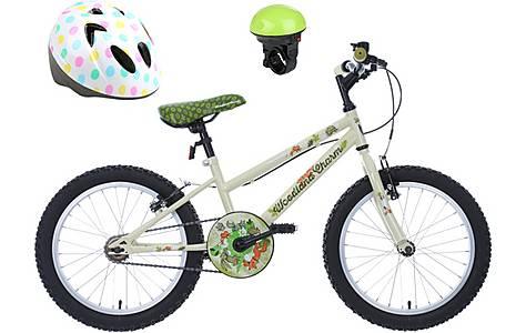 image of Apollo Woodland Charm, Electric Bike Bell & Polka Dot Helmet bundle