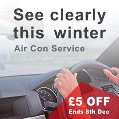 £5 OFF Air Con Service