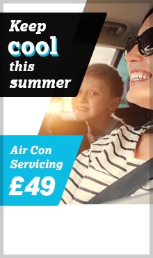Air Con Servicing from £49
