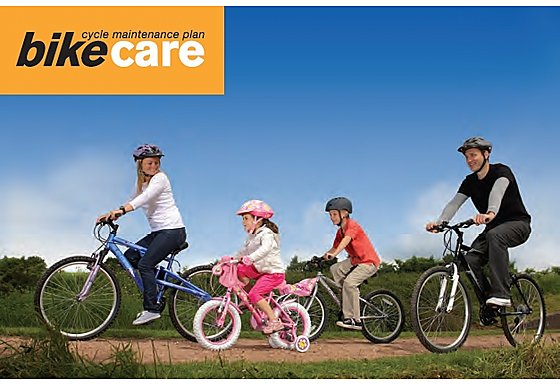 Halfords 1 Year Family Bike Care Plan (1 Adult Free)