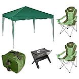 Halfords Pop-up Gazebo Bundle with Accessories