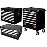 Halfords Industrial Cabinet and Chest Bundle