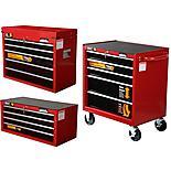 Professional, 4, 5 & 7 drawer cabinets bundle