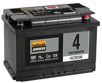 Halfords Calcium Battery HCB096