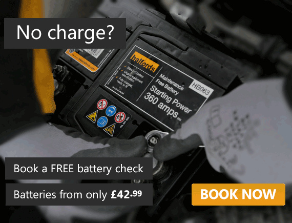 Batteries from £42.99 - book a FREE battery check today