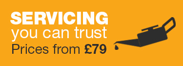 Servicing you can trust from £79