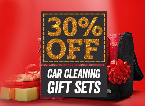 30 pc off car cleaning gift sets