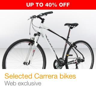 Carrera Bikes