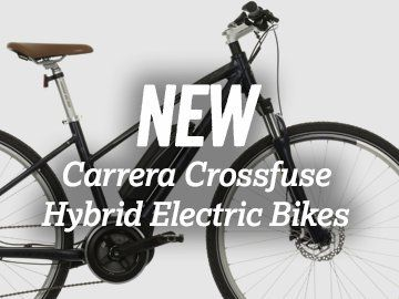 New Carrera Crossfuse Hybrid Electric Bike