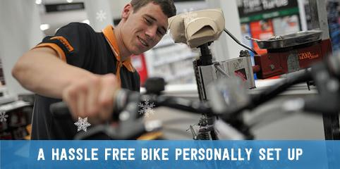 A hassle free bike personally set up