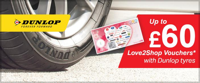 Image for Dunlop Love2Shop promotion article