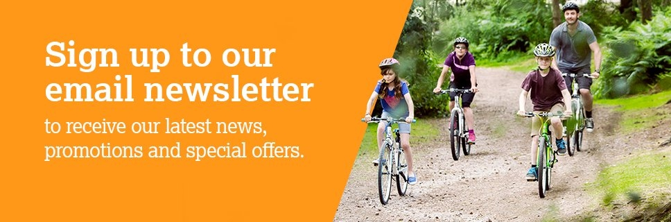 Sign up to Halfords email newsletter