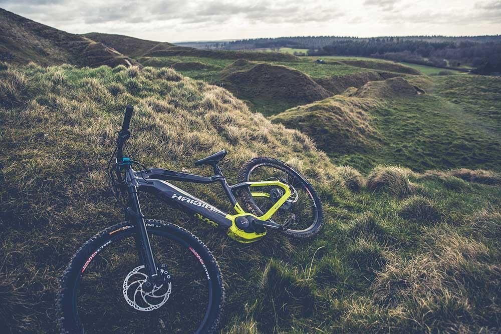 Hardtail Electric Mountain Bikes
