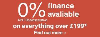 0% finance available on all bikes over £199
