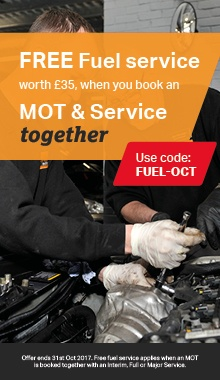 FREE fuel service worth £35