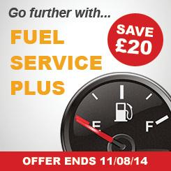 Save £20 on Fuel Service Plus