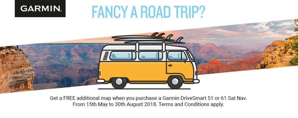 Fancy a Road Trip with Garmin?