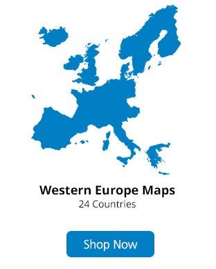 Garmin Western Europe Maps