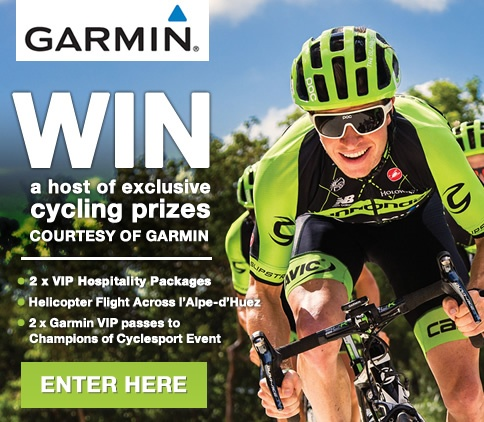 Win a host of exclusive cycling prices courtesy of Garmin