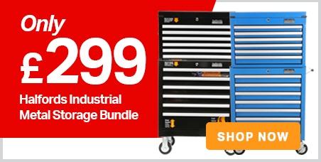 Halfords Industrial Metal Storage Bundle only £299