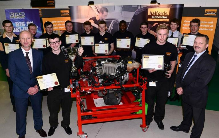 Image for July 2015 | Halfords to reach 760 apprentices by March 2016 article