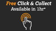Free Click and Collect - available in 1 hour