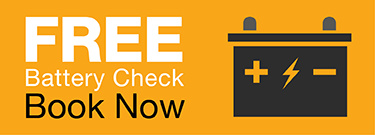 Free Battery Check - Book Today!