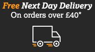 Free Next Day Delivery - on orders over £40