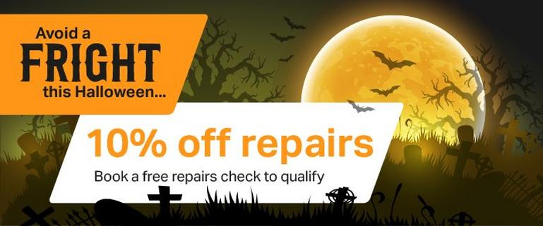 Image for Halloween repairs offer article