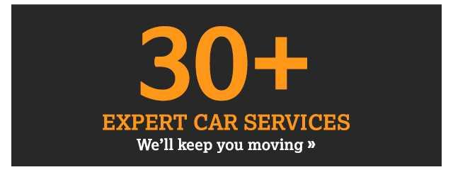 30+ expert car services