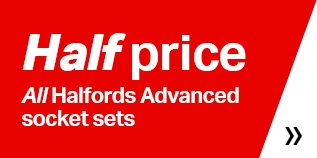 Half price Halfords socket sets