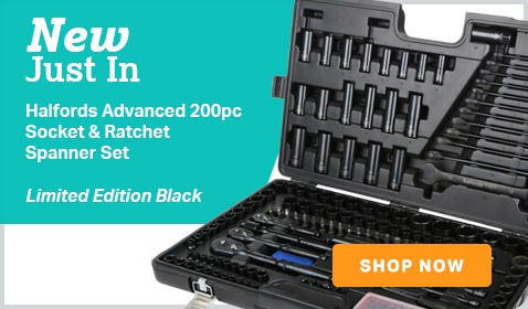 Halfords Black Socket Set
