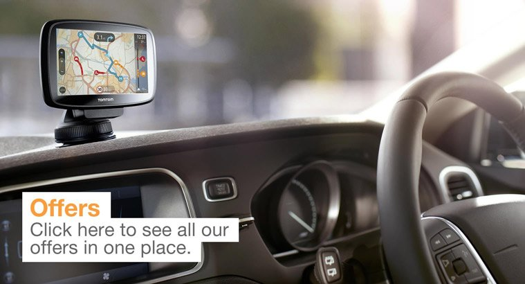 Sat Nav and Audio Offers