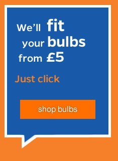 We can change your bulbs - Just Click