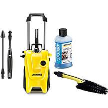 image of Karcher K4 Pressure Washer and accessories bundle