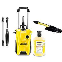 image of Karcher K4 Compact Brush and Cleaner bundle