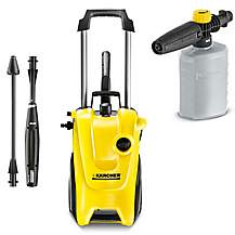 image of Karcher K4 Compact and Foam Spray Nozzle bundle
