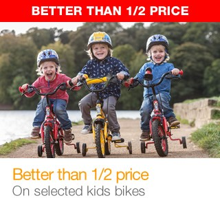 Better than half price Kids Bikes