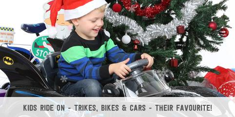 Kids Ride On - Trikes, Bikes & Cars - Their Favourite